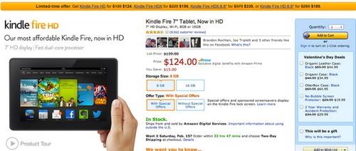 Amazon tận dụng màu cam trong banner để làm tăng tính cấp thiết cho thông điệp.