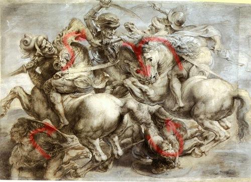 Visual Movement trong tác phẩm của Da Vincii